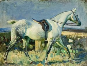 The Grey Mare © the estate of Sir Alfred Munnings