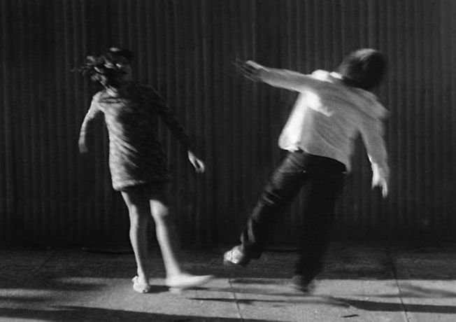 Leslie Thornton /  Peggy and Fred in Hell: Folding (1985 - 2015) / Still from digital video (originated on 16mm film), 95 mins / Courtesy of the artist