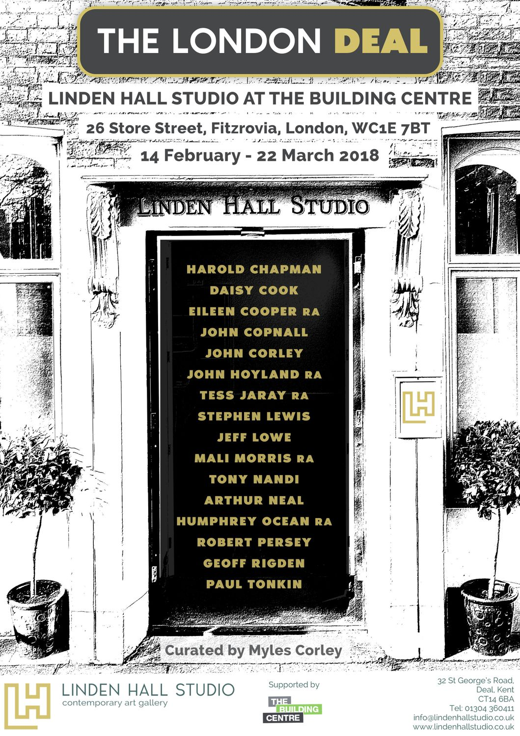 Art Events Calendar London : The london deal exhibition at linden hall studio in