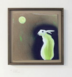 'Hare and Moon' David Harrison