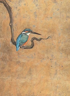 The Lost Words - Jackie Morris, Kingfisher, 2017 © Jackie Morris