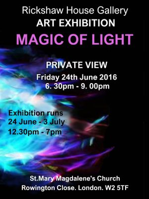 The Magic of Light Art Exhibition