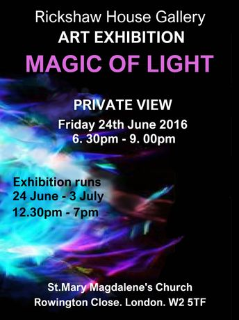 The Magic of Light Art Exhibition: Image 0