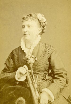 Marie Henderson, actress and manager of Elephant and Castle Theatre, 1875-1880