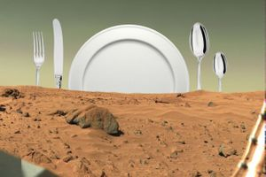 Menu for Mars Kitchen