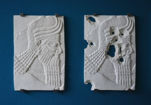 The Mesopotamian relief by Piers Secunda
