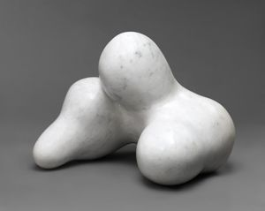 Jean (Hans) Arp, Human Concentration, 1934  Marble, 13 ¼ x 16 x 15 ½ in. (33.7 x 40.6 x 39.4 cm) © 2018 Artists Rights Society (ARS), NY / VG Bild-Kunst, Bonn