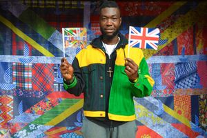 AKA @AfrikanBoy with the New Union Flag Project