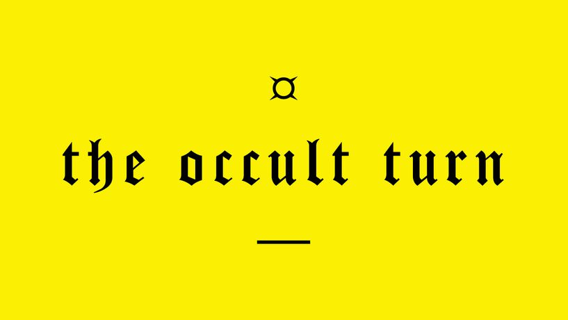 The Occult Turn: Image 0
