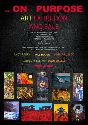 The On Purpose Art Exhibition and Sale