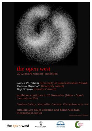 the open west 2012 award winners exhibition