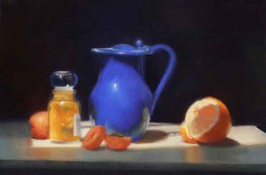 Liz Balkwin PS, Blue Pitcher