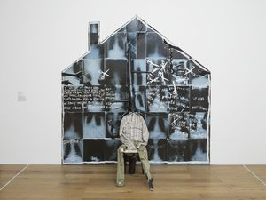 Donald Rodney, The House That Jack Built, 1987. Exhibition view at Nottingham Contemporary. Photo Andy Keate.