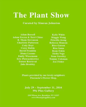 The Plant Show, Curated by Simran Johnston