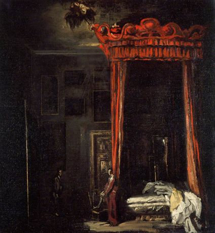 The Red Bed, James Pryde