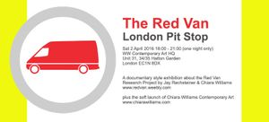 The Red Van London Pit Stop