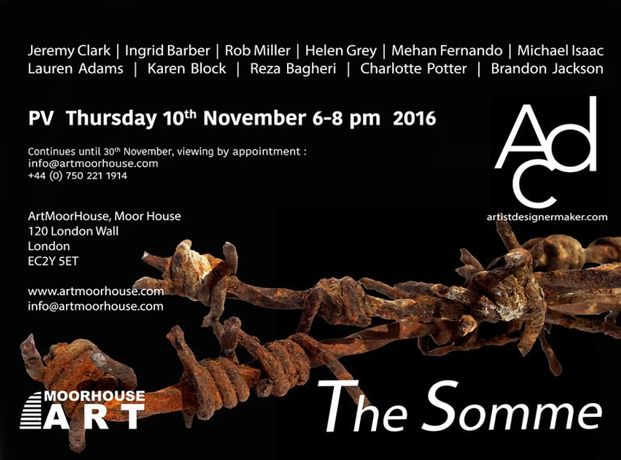 The Somme t ArtMoorHouse London