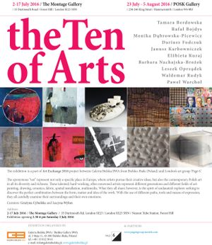 The Ten Of Arts