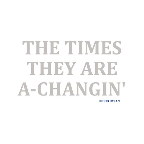 The Times They Are a-Changin': Image 0