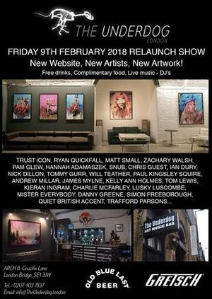 The Underdog Gallery Relaunch Show