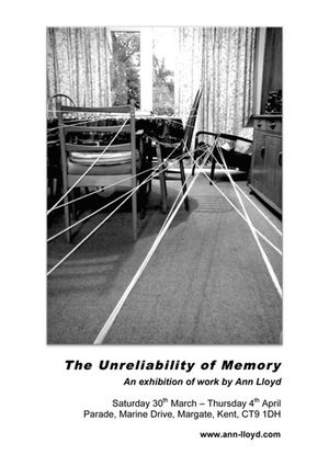 The Unreliability of Memory by Ann Lloyd