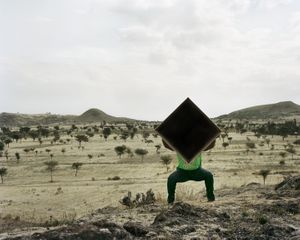 Dawit L. Petros, Single Cube Formation No.4, Nazareth, Ethiopia, 2011