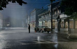 Gregory Crewdson, Untitled (Summer Rain), 'Beneath the Roses', 2004, digitaler Pigmentdruck. Museum Frieder Burda, Baden-Baden © Gregory Crewdson Courtesy Gagosian