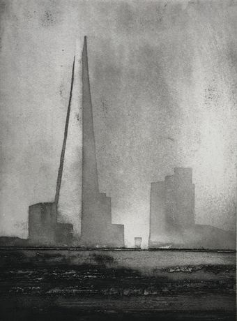 Jason Hicklin, The Shard, Etching