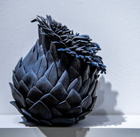Blue Seedpod, Adele Howitt