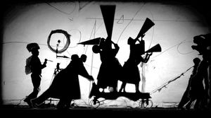The Refusal of Time with collaboration of Philip Miller, Catherine Meyburgh and Peter Galison, Film Still. 2012. Courtesy William Kentridge, Marian Goodman Gallery, Goodman Gallery and Lia Rumma Gallery