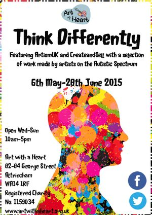 Think Differently Poster