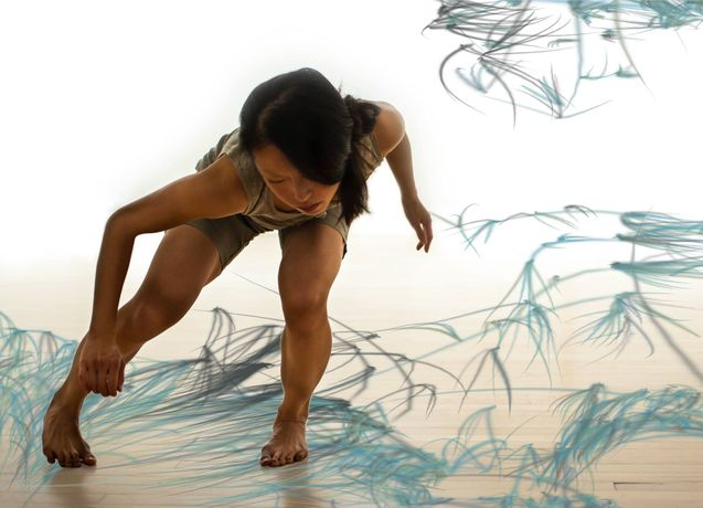 This Floating World - Interactive dance performance at Arebyte Gallery: Image 0