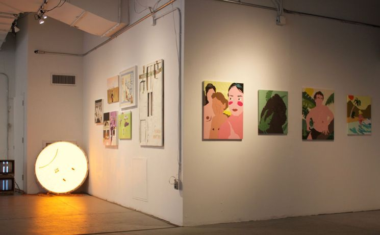 This is Not a Safe Space, Installation view