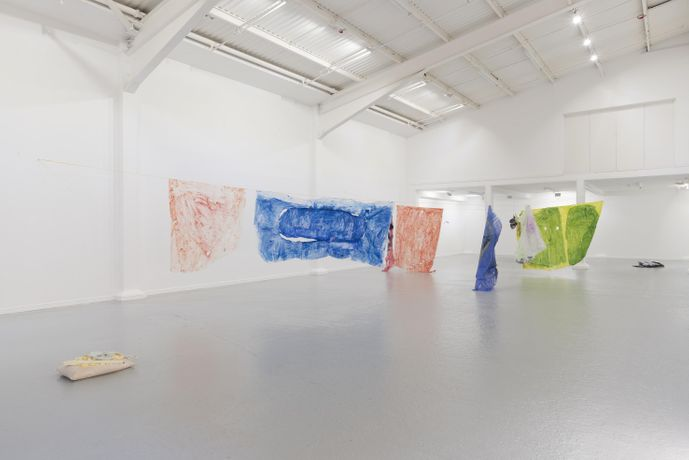 Thomas Greig, Atom Spit, installation view, Thames-Side Studios Gallery, 2019. Photo: Reinis Lismanis