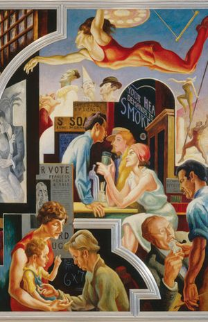 Thomas Hart Benton's America Today Mural Rediscovered