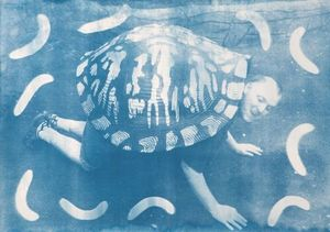 Thomas Mailaender: Cyanotypes