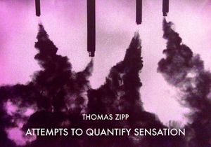 Thomas Zipp: Attempts to quantify sensation