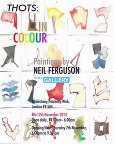 THOTS IN COLOUR: Paintings by NEIL FERGUSON: Image 0