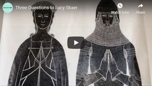Three Questions to Lucy Skaer