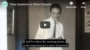 Three Questions to Oliver Chanarin