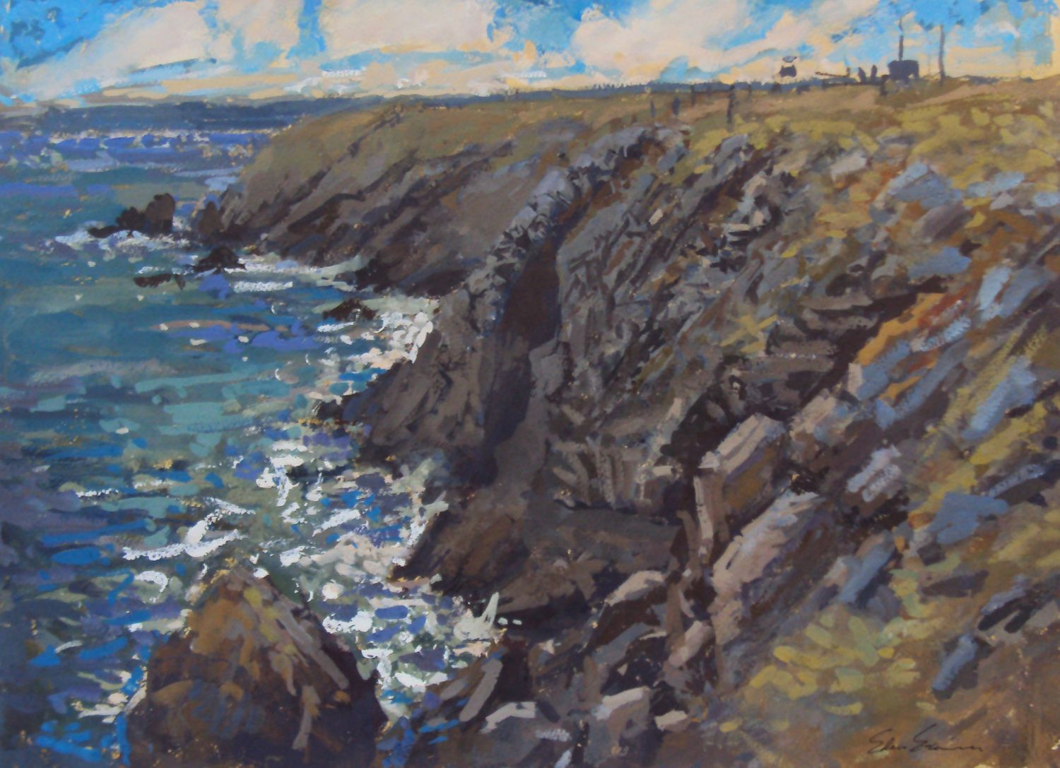 Three Welsh Landscape Artists - Exhibition at Art Matters at ... on