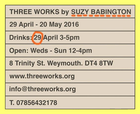 Three Works by SUZY BABINGTON: Image 0