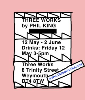 Three Works by PHIL KING