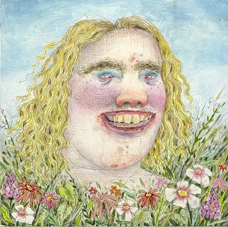 Rebecca Morgan, 'Bumpkin on Panel,' 2011, Graphite and Oil on Panel, 6 x 6 inches
