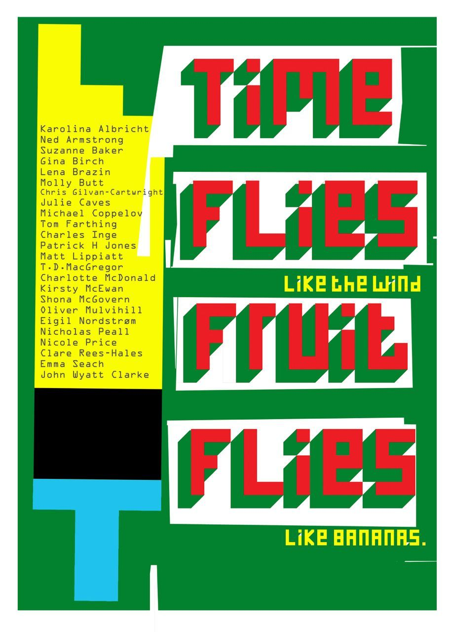 Time Flies Like The Wind Fruit Flies Like Bananas Exhibition At