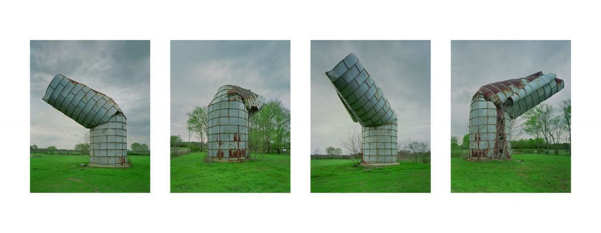 Timothy Hursley Alabama Silo, Hale County, Alabama, 2008 Ed. 1/5 C-print mounted on Dibond 23 1/2 x 60 in Inventory #THU024