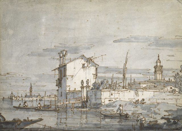 Titian to Canaletto: Drawing in Venice: Image 3