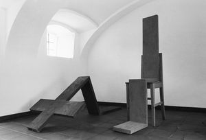 Josef Bauer, Herrschen und Dienen (To Reign and to Serve)  1969 and 1974
