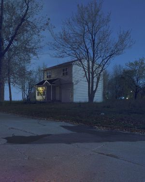 Todd Hido. Light from within
