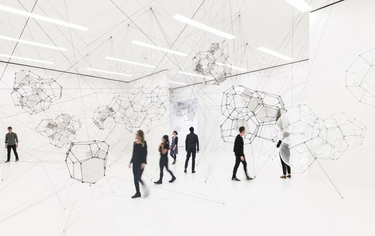 Tomás Saraceno: Stillness in Motion — Cloud Cities: Image 0